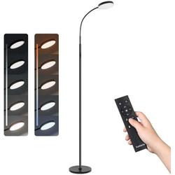 Tomons LED Stehlampe Stehlampe LED Dimmbar Stehleuchte 12W mit Fernbedienung