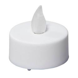 12 LED-Teelichter   weiß