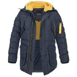 Poolman Rockwood Hooded Parka (Sale) navy, Größe M
