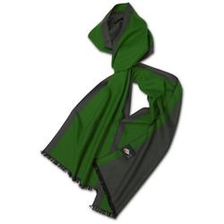 Posh Gear Seidenschal Seiden Schal Silk Bicolor aus 100% Seide grün