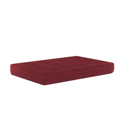 Vicco Palettenkissen Palettenkissen Sitzkissen Palettenmöbel 15 cm hoch Rot rot