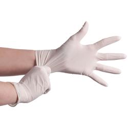 Latex Einweghandschuhe gepudert Größe XL, 100 Stk.