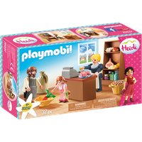 Playmobil Heidi Dorfladen der Familie Keller