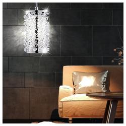 FISCHER & HONSEL Pendelleuchte, LED Kristall Pendelleuchte für Ihren Wohnraum GLOSSY