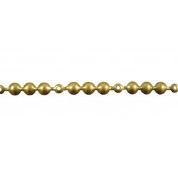 10 Meter Ziernagelstangen gold 11 mm 130 1/3