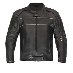 Hochwertige Motorrad Lederjacke von XLS Classic Sports Leather Jacket