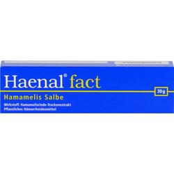 HAENAL Fact Hamamelis Salbe 30 g