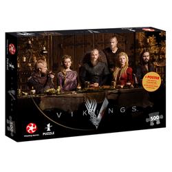 Puzzle Vikings Ragnar's Court 500 Teile