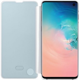 Samsung Clear View Cover EF-ZG973 für Galaxy S10 weiß