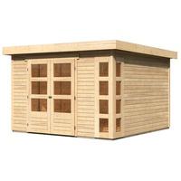 Woodfeeling Kerko 6 3,02 x 2,98 m natur