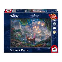 Schmidt Spiele Puzzle Disney Rapunzel Thomas Kinkade, 1000 Puzzleteile