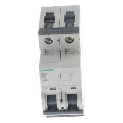 Siemens MCB 2 Pole Type C 10kA 10A 400V, Automatisierung
