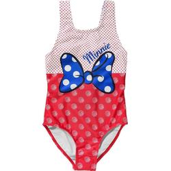 Disney Minnie Mouse Badeanzug Disney Minnie Mouse Kinder Badeanzug rot 116