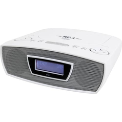 Soundmaster URD480WE Radiowecker UKW AUX, CD, USB Weiß