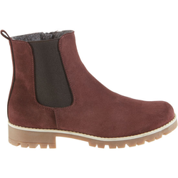Chelsea-Boots, rot, Gr. 40 - 40 - rot