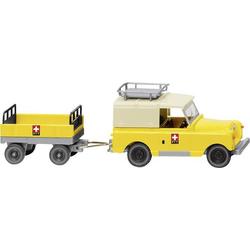 Wiking 010005 H0 Land Rover mit Anhänger  PTT