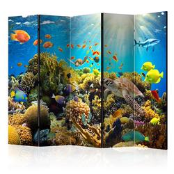 Parawan 5-częściowy - Podwodny świat