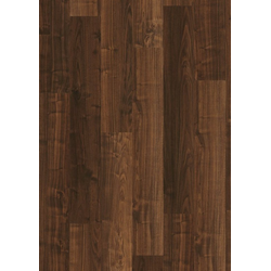 PARADOR Laminat Basic 200 - Walnuss Holzstruktur, Packung, ohne Fuge, 1285 x 194 mm, Stärke: 7 mm