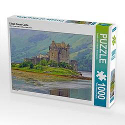Eilean Donan Castle Lege-Größe 64 x 48 cm Foto-Puzzle Bild von Babett''s Bildergalerie Puzzle