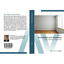 Vom Altbau zum Passivhaus als Buch von Henry Schäfer