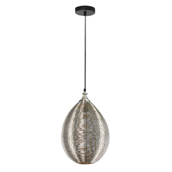 locker Pendelleuchte Egg, LED- oder Halogenleuchtmittel