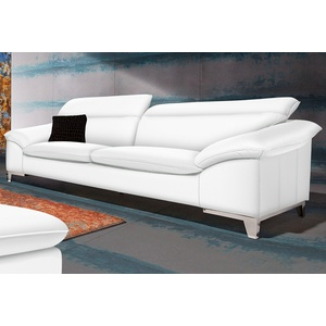 Cotta Dreisitzer, weiß, Mit Rückenverstellung, FSC®-zertifiziert