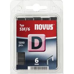 Novus Klammer D 53 F 6 mm 1200 STK  042-0374