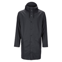 Rains - Long Jacket Black - Jacken - Größe: L/XL