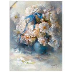 Artland Wandbild Ranunkel, Blumen (1 Stück) 30 cm x 40 cm