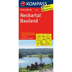 Neckartal - Bauland 1 : 70 000