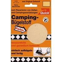 Kleiber Camping-Bügelstoff, sand