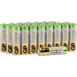 GP Batteries Super Mignon (AA)-Batterie Alkali-Mangan 1.5V 24St.