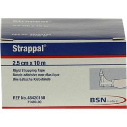 Strappal Tapeverband 2,5 cmx10 m 1 St