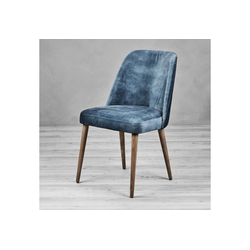 carla&marge Esszimmerstuhl Naticca Velvet blau