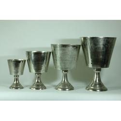 Vase auf Fuß MADRAS(DH 30x48 cm)