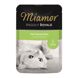Miamor FB Ragout Royale in Jelly Kaninchen 100 g (Menge: 22 je Bestelleinheit)