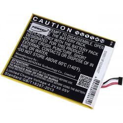 Powery Akku für Tablet Amazon Typ MC-347993, 3,7V, Li-Polymer