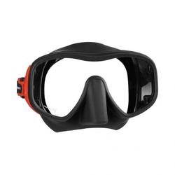Mares Juno - Maske - rot/schwarz