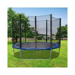 Trampoline avec filet de protection 183 cm jouet enfant sport à domicile en plein air en sécurité