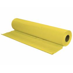 Tischtuch Tischdecke Biertischdecke LDPE gelb perforiert auf Rolle 0,70 x 240m