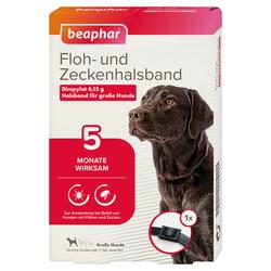 Beaphar Floh- und Zeckenhalsband für große Hunde 65 cm