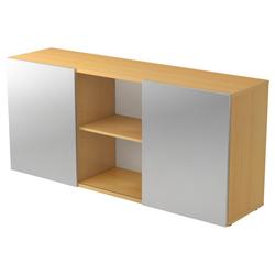 KAPA 1780 | Sideboard | mit Schwebetüren - Buche/Silber Sideboard