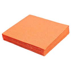 Servietten 33 x 33 cm 1/4 -Falz, 2-lagig orange, 250 Stk.