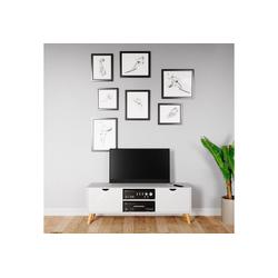 andas Sideboard Scandi, Fernsehtisch mit Soft-Close-Funktion