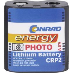 CRP2 Fotobatterie CR-P 2 Lithium 1400 mAh 6V 1St.