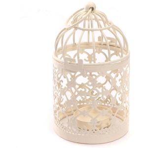 Lubier Kerzenständer aus Eisen im europäischen Stil Kreative Zuhause Vogelkäfig Deko Muster Metall Basteln Dekoration