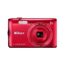 NIKON Coolpix 20MP Digitalkamera 8x opt. Zoom Leichtmetallgehäuse inkl. Nikon Tasche Coolpix A300