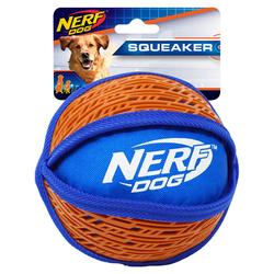 Nerf Dog Hundespielzeug Force Grip Ball rot/blau