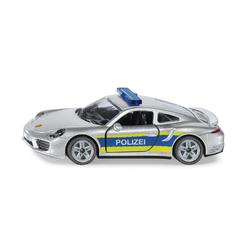 Siku Spielzeug-Auto Siku Porsche 911 Autobahnpolizei