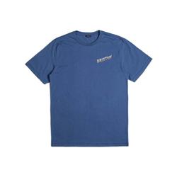 Tshirt BRIXTON - Adios Deep Blue (DPBLU)
